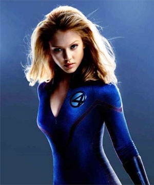Jessica Alba as Sue Storm
