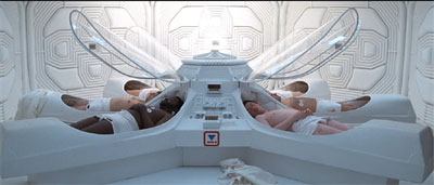 Alien cast in stasis pods